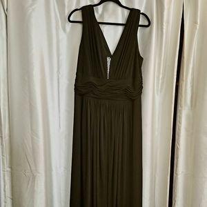 Plus Size Niki Livas Formal Gown